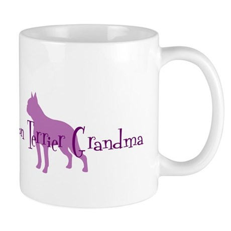 Boston Terrier Grandma Mug