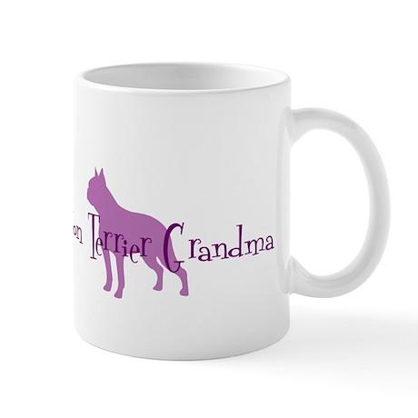 Boston Terrier Grandma Mug
