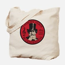 Giuseppe Verdi bicentennial red Tote Bag