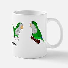 quaker_parakeet_shirt Mug