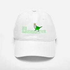 be_assertive_bumper Baseball Baseball Cap
