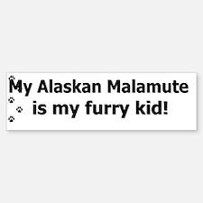 furrykid_alaskanmal Bumper Bumper Sticker