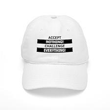 accept_nothing_button Baseball Cap