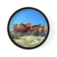 Wall Clock - devils garden # 60