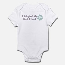 I Adopted My Best Friend Infant Bodysuit