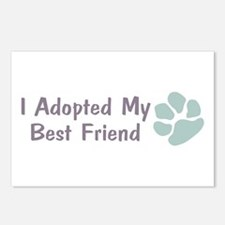 I Adopted My Best Friend Postcards (Package of 8)
