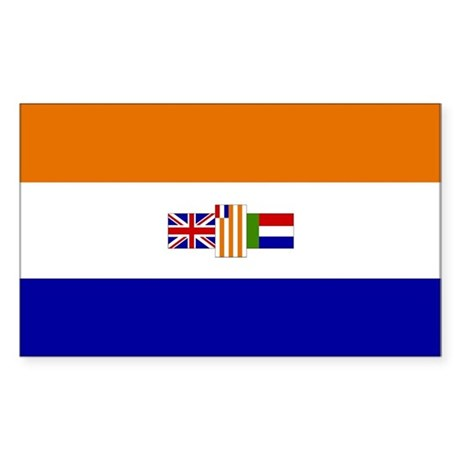 South Africa Rectangle Sticker