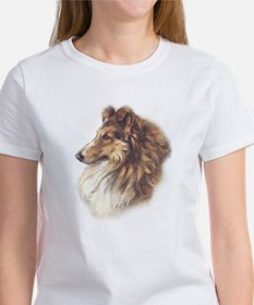 Vintage Sable Collie Women's T-Shirt