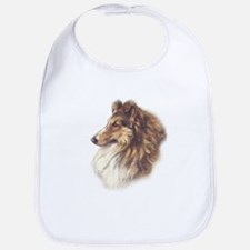 Vintage Sable Collie Bib