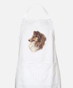 Vintage Sable Collie Grooming Apron