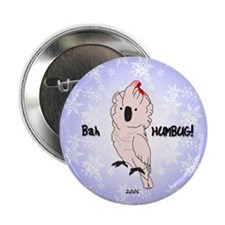 """ornament_moluccan_angry 2.25"""" Button"""