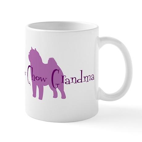Chow Grandma Mug