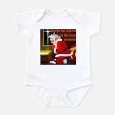 'Santa knelt' Onesee