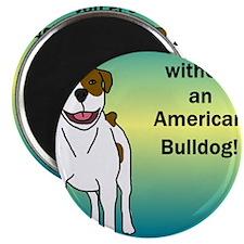 tile_americanbulldog Magnet
