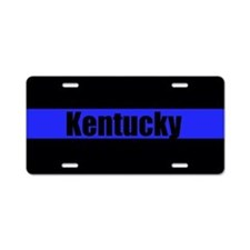 Kentucky Police Aluminum License Plate