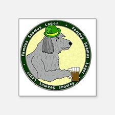 "irishlager_wolfhound Square Sticker 3"" x 3"""