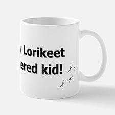 featheredkids_rainbowlorikeet Mug