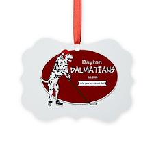 dalmatian_hockey Ornament