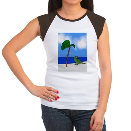 tropical_lightswitch_se Women's Cap Sleeve T-Shirt