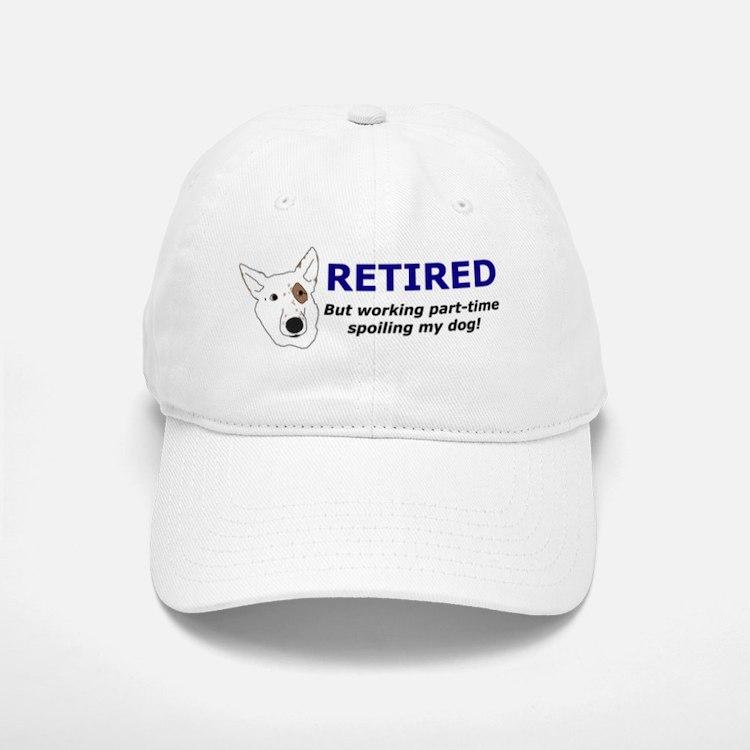 retired_spoilingdog_hat Baseball Baseball Cap