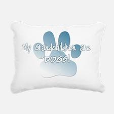 mygrandchildren_dogs Rectangular Canvas Pillow
