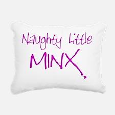 naughtylittleminx Rectangular Canvas Pillow