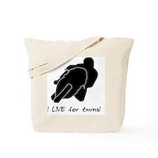 liveforturns Tote Bag