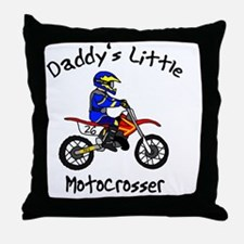 daddyslittleboy Throw Pillow