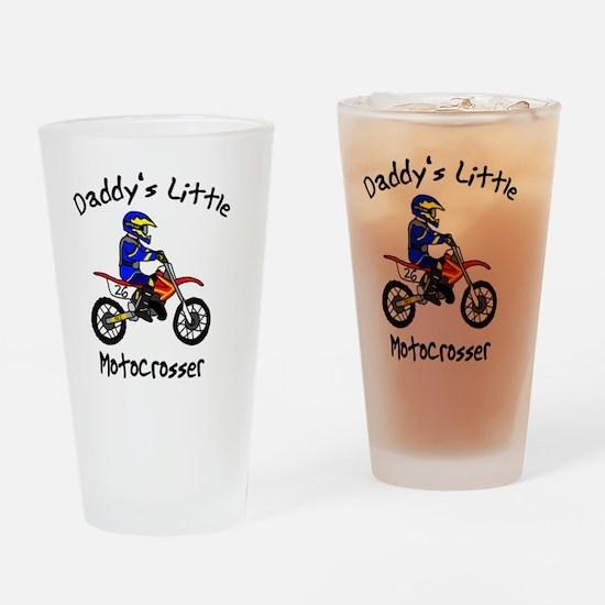 daddyslittleboy Drinking Glass