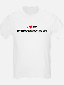 I Love: Entlebucher Mountain  Kids T-Shirt