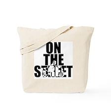 onthestreet_white Tote Bag