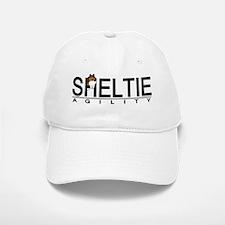 sheltie_agility Baseball Baseball Cap