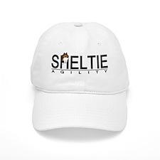 sheltie_agility Baseball Cap