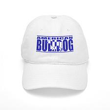silhouette_americanbulldog_black Baseball Cap