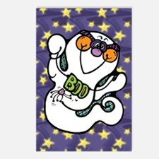 Cute Ghost Boo Postcards (Package of 8)