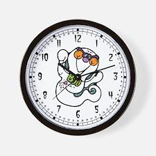 Cute Ghost Boo Wall Clock