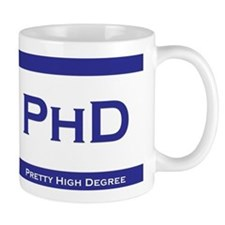 PhD Degree Mug