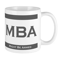 MBA Degree Small Mug