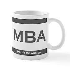 MBA Degree Small Mugs