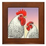 Delaware Fowl Framed Tile
