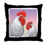Delaware Fowl Throw Pillow