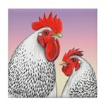 Delaware Fowl Tile Coaster