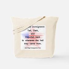 talldarkdeported Tote Bag