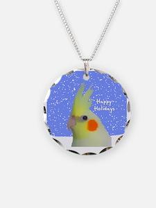 ornament_lutinocockatielpain Necklace