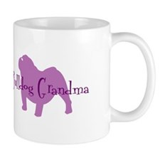 Bulldog Grandma Mug
