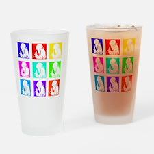 quaker_parrot_multi Drinking Glass