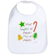 """Christmas Nana"" Bib"