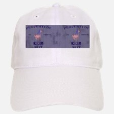propertyofallamericanmuttwashed-mug Baseball Baseball Cap