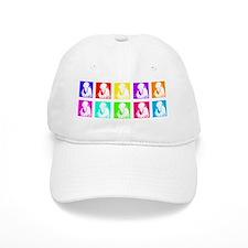 quaker_parrot_multi_bev Baseball Cap