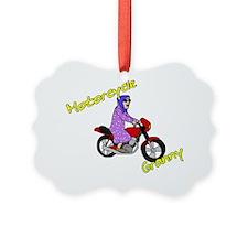 motorcyclegranny Ornament